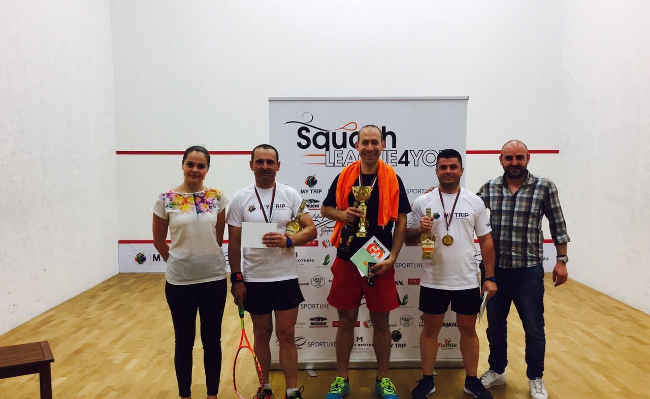 2-ви кръг от Squash league 4 you 13/14.05.2017 г.